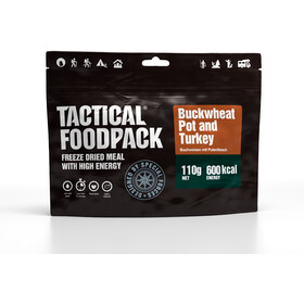Tactical Foodpack Freeze Dried Måltid 110g, Buckwheat and Turkey